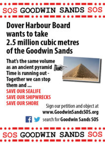 Goodwin Sands SOS Poster