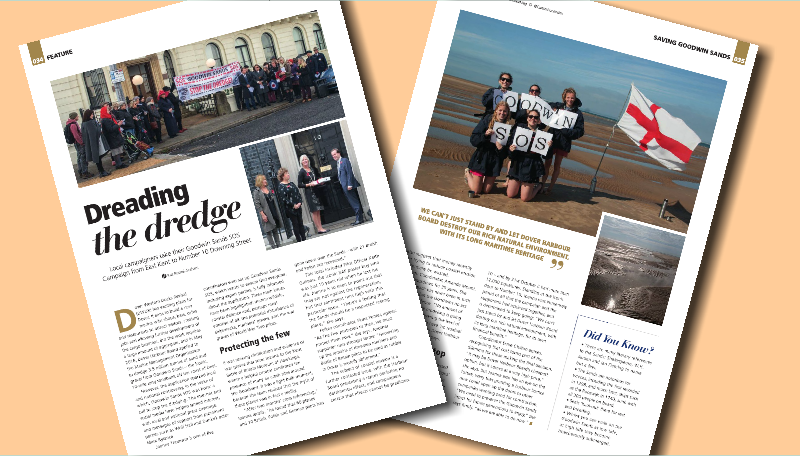 The Campaign featured in January's Canterbury Index Magazine