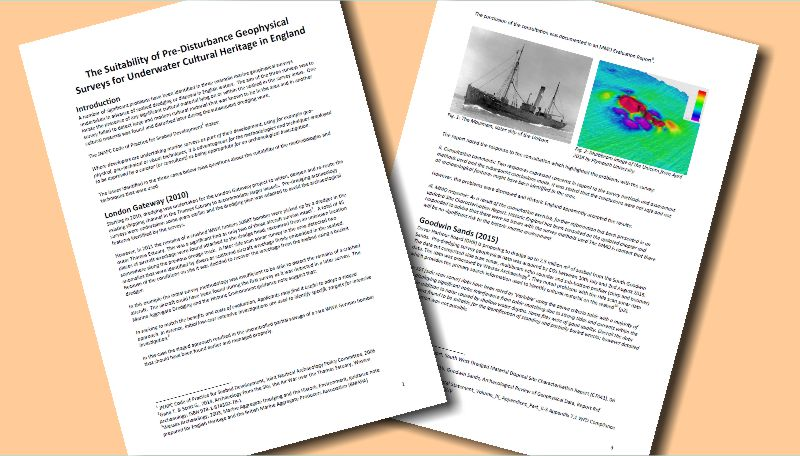 White paper on problems with geophysical surveys
